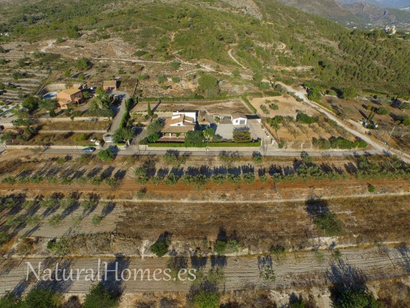 Finca with mountain views Benissa
