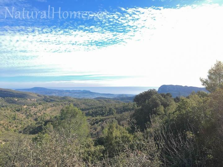Plot with spectacular views in Bernia