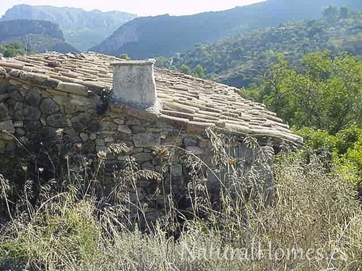 Endearing stone finca for renovation.