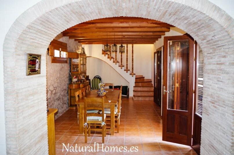 Finca with private wine cellar.