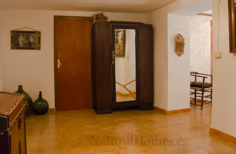 Large townhouse in peaceful mountainside village.